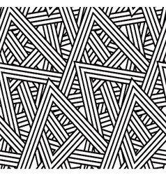 Stripe triangle pattern vector