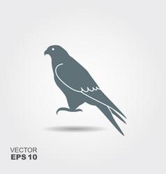 falcon icon - vector image vector image