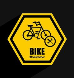 bike maintenance vector image