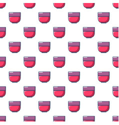 bowl pattern seamless vector image