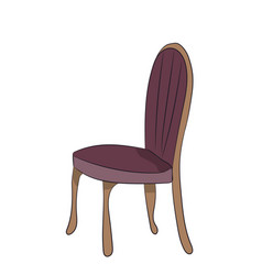 chair stands vector image