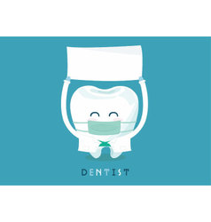 Dentist write here vector