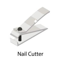 Nail cutter vector