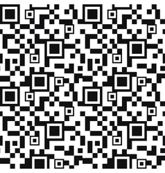 QR code seamless pattern background vector image