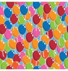 balloon pattern vector image vector image