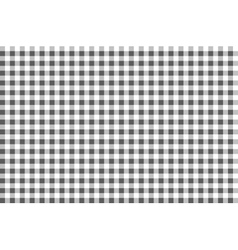 Black and white plaid pattern seamless vector image