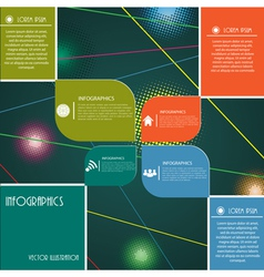 Modern design layout for business vector image