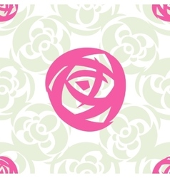 Flower Seamless pattern Floral stylish background vector image vector image