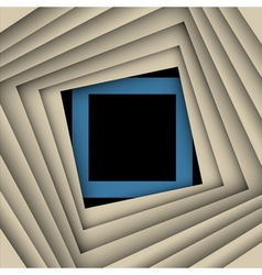 paper square and frame background vector image vector image
