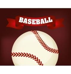 Baseball sport ball vector