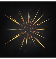 Cartoon Explosion Star Burst vector