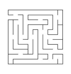 Labyrinth Simple vector