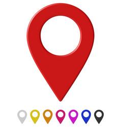 Map pointer vector