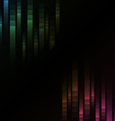Rainbow abstract pixel speed reverse background vector