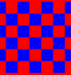 red blue checkered seamless repeating pattern vector image