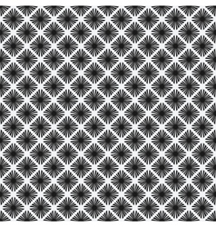 rhombus seamless pattern black-and-white vector image