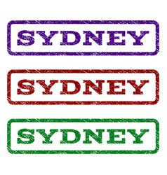Sydney watermark stamp vector