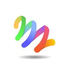 Creative agency logo icon template vector