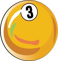 3 Ball vector image