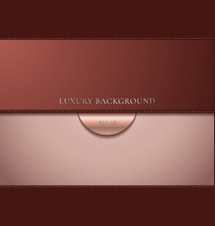 Abstract brown gradient background with dashed vector