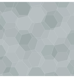 Background with grey honeycombs vector