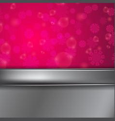 Christmas purple background vector