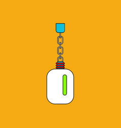 Flat icon design collection soldier water bottle vector