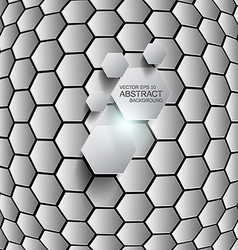 Hexagon background 2 vector