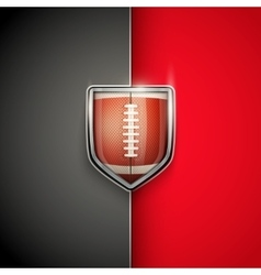 Premium Template of US Football vector image