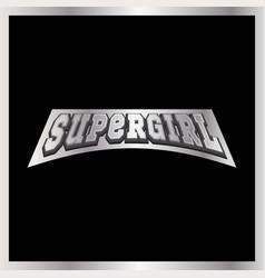 super mom super hero power full typography vector image