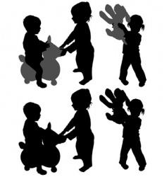 children's games vector image vector image