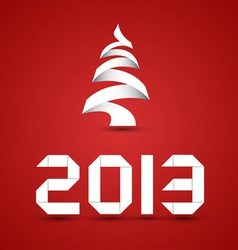 New 2013 Year Numbers vector image