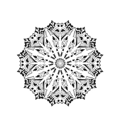 Mandala Ethnic abstract decorative elements vector image