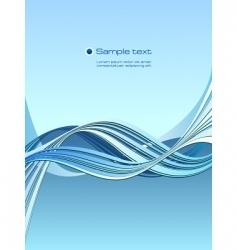 marine waves vector image vector image