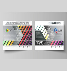 Bright color rectangles colorful design with vector
