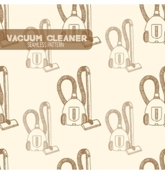 Vacuum cleaner Vintage style vector image vector image