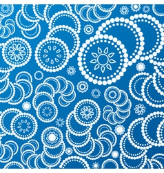 abstract blue background pattern vector image