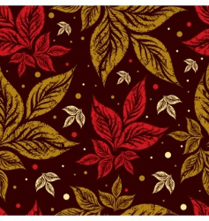 autumn grunge backgound vector image