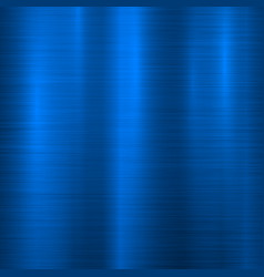 Blue metal technology background vector