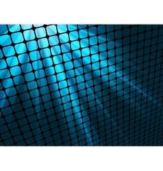blue rays light vector image