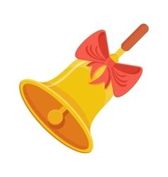 golg school bell vector image