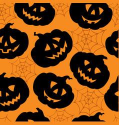 halloween seamless background 1 vector image
