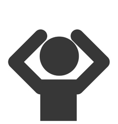 man pictogram icon vector image