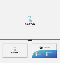 Music tone simple line logo multimedia industry vector