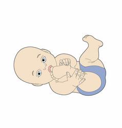 Pretty baby vector