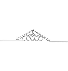 single continuous line drawing triangle vector image