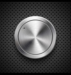 Abstract technology volume knob vector