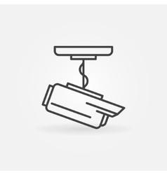 CCTV icon or logo vector image