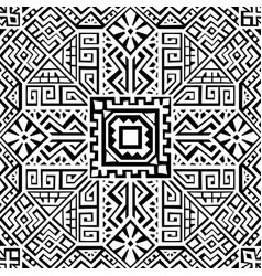 creative ethnic style seamless pattern vector image
