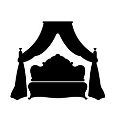 King bed vector